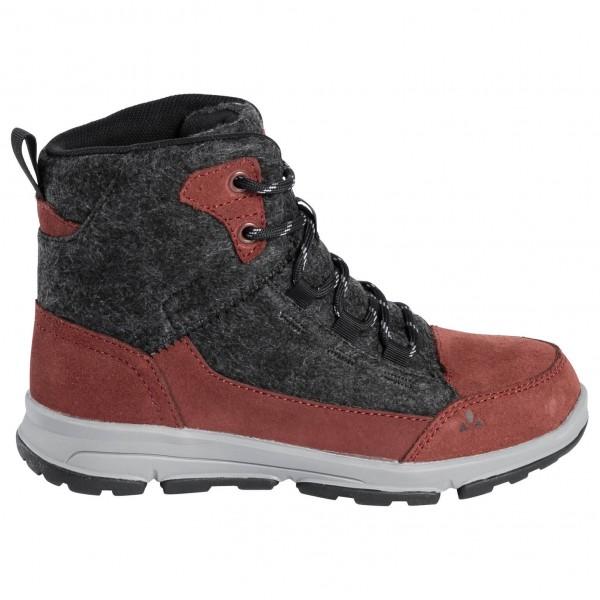 Vaude - Kids Ubn Kiruna Mid Cpx - Winter Boots Size 36  Black/red