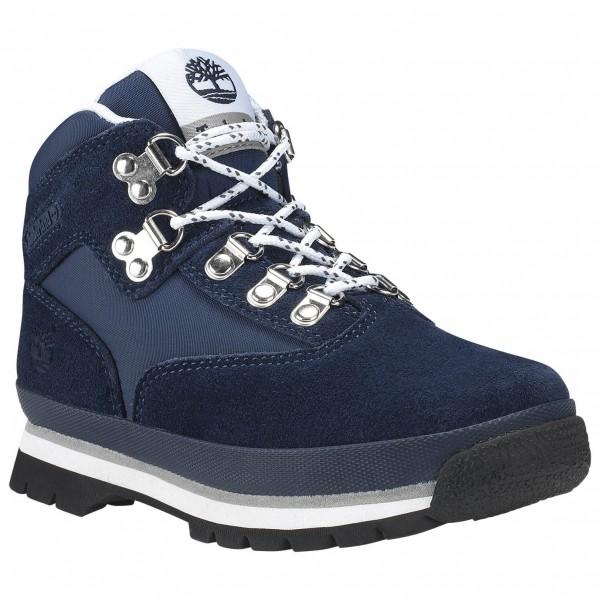 Timberland - Kid's Euro Hiker Leather/Fabric - Wanderschuhe Gr 2 blau CA1I23