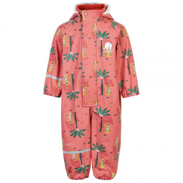 #CeLaVi – Kid's Rainwear Suit AOP – Overall Gr 100 rot#