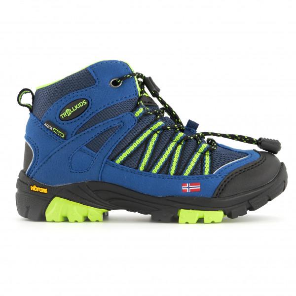 Trollkids - Kids Lofoten Hiker Mid - Wanderschuhe Gr 40 blau 256-106-040