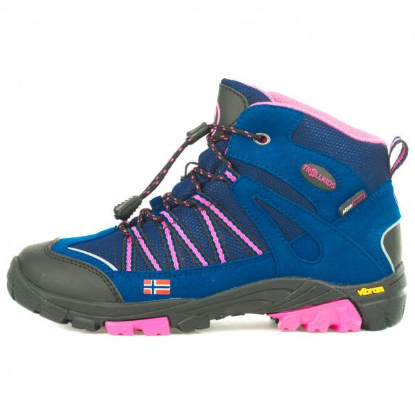 Trollkids - Kids Lofoten Hiker Mid - Wanderschuhe Gr 36 blau 256-114-036