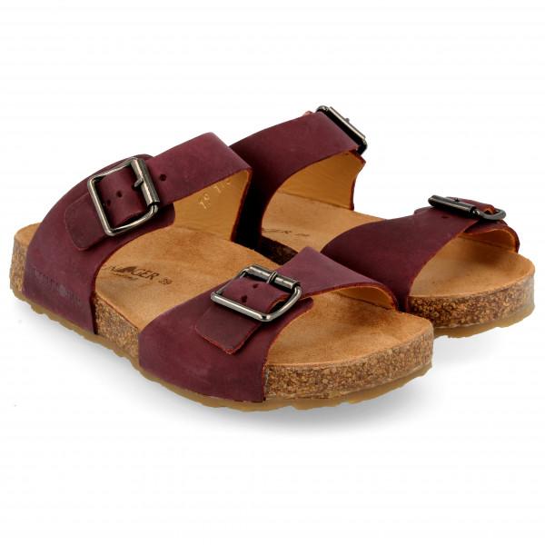 Haflinger - Kids Andrea - Sandals Size 32  Brown/red