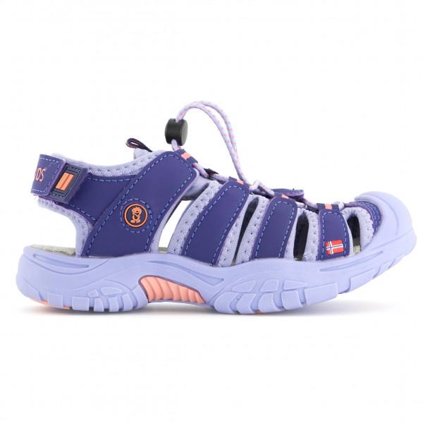 Trollkids - Kids Kvalvika Sandal - Sandals Size 30  Blue