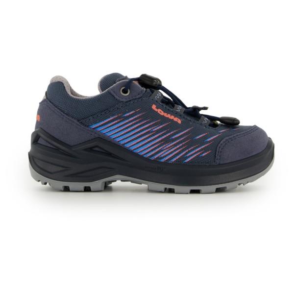 Lowa - Kids Zirrox Gtx Lo Junior - Multisport Shoes Size 40  Black/grey