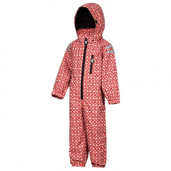 Ducksday - Kids Rain'n'Snowsuit - Overall Gr 86-92 rot/rosa RAINSUFR86