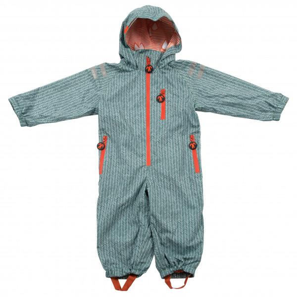 Ducksday - Kids Rain'n'Snowsuit - Overall Gr 80/86 grau RAINSUMAN80