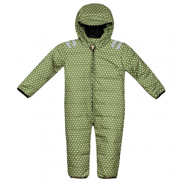 Ducksday Kids Babyskisuit Skipak maat 68, green