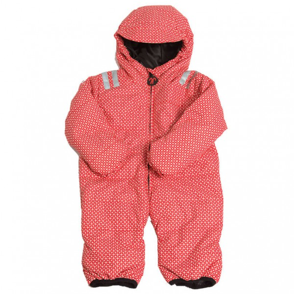Ducksday Kids Babyskisuit Skipak maat 86, red