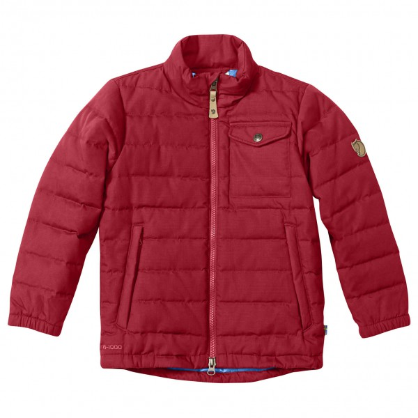 Fjällräven - Kid´s Övik Lite Jacket Kunstfaserjacke Gr 128 rot Sale Angebote