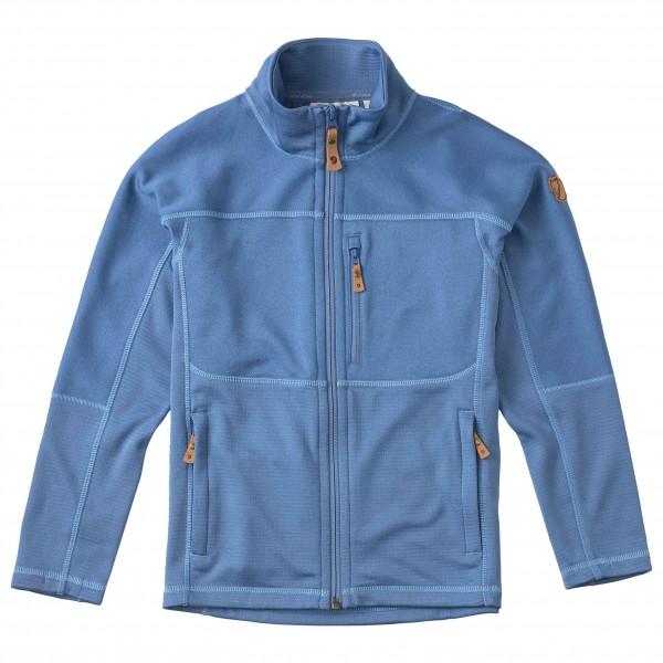 Fjällräven - Kid's Abisko Trail Fleece - Fleecejacke Gr 128 blau