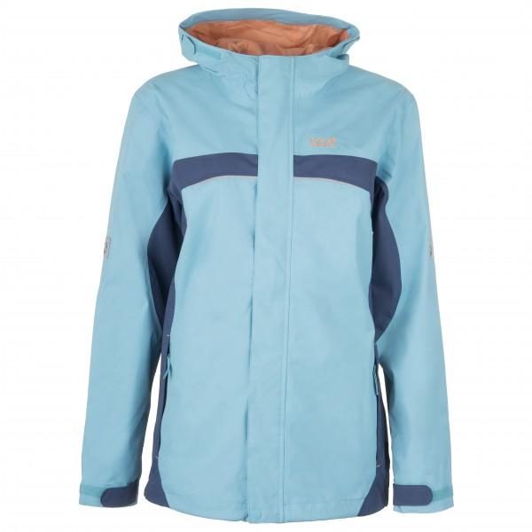 Jack Wolfskin Topaz Texapore Jacket Girl´s maat 116 turkoois-blauw