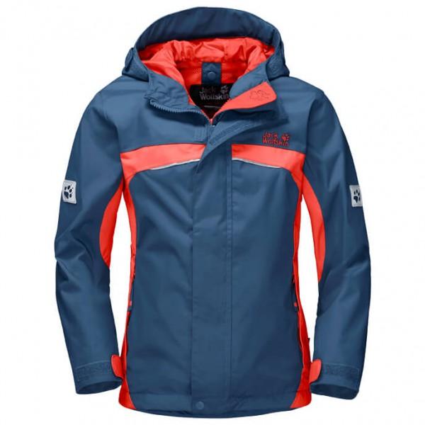 Jack Wolfskin Topaz Texapore Jacket Girl´s maat 128 blauw