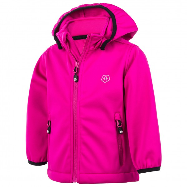 Color Kids - Baby´s Trimble Mini Softshell Softshelljacke Gr 98 rosa Sale Angebote Ortrand