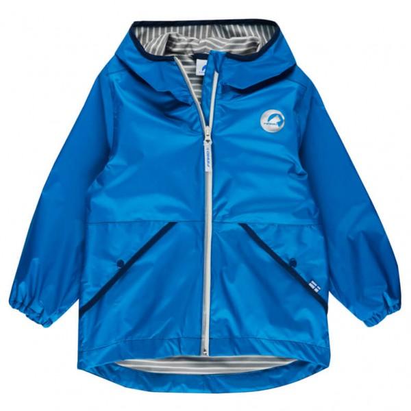 Finkid - Kid's Puuskis Zip-In Jacket - Hardshelljacke Gr 100/110 blau