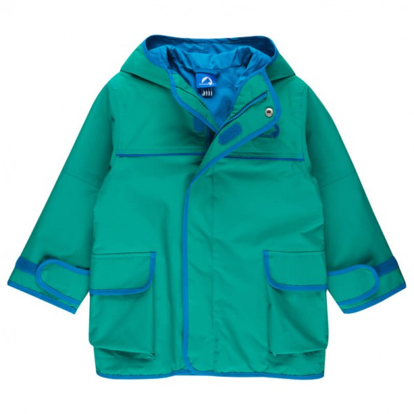 Finkid - Kid's Tuulis Zip-In Jacket - Hardshelljacke Gr 90/100 türkis