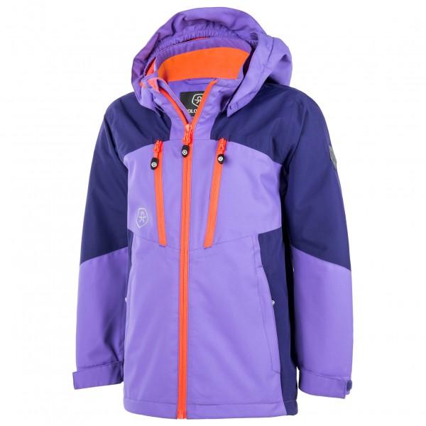 Hermsdorf Angebote Color Kids - Kid´s Vanne Jacket Hardshelljacke Gr 128 lila/blau/rosa