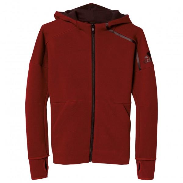 adidas Z.N.E. Full Zip Hoodie Fleecejack maat 116 rood