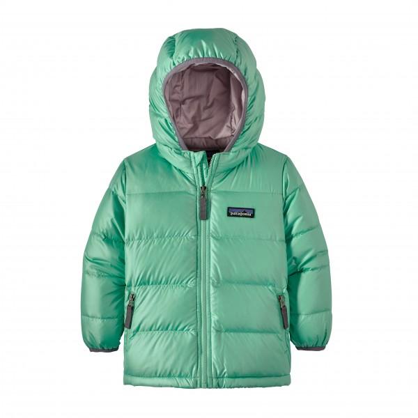 Patagonia - Baby Highloft Down Sweater Hoody - Daunenjacke Gr 4T grün/türkis