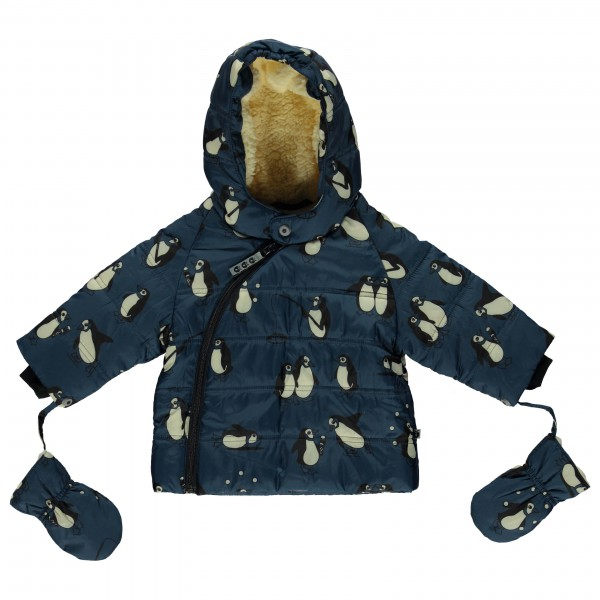 smafolk baby winter jacket with penguins bear grylls. Black Bedroom Furniture Sets. Home Design Ideas