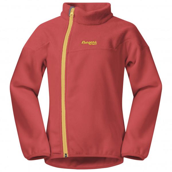 Bergans - Kid's Ruffen Fleece Jacket - Fleecejacke Gr 104 rosa/rot 214164