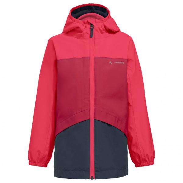 Vaude - Kids Escape 3in1 Jacket - 3-in-1 Jacket Size 98  Pink/red/black