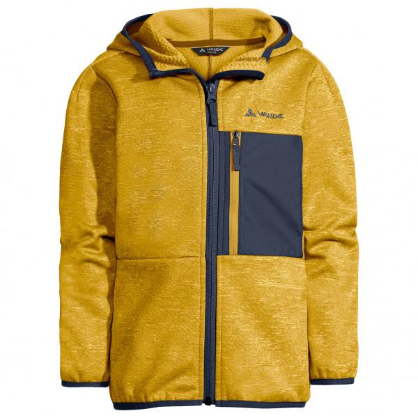 Empfehlung: Kinder Fleecejacke Gelb – Kid's Kikimora Jacket Vaude  von Vaude*