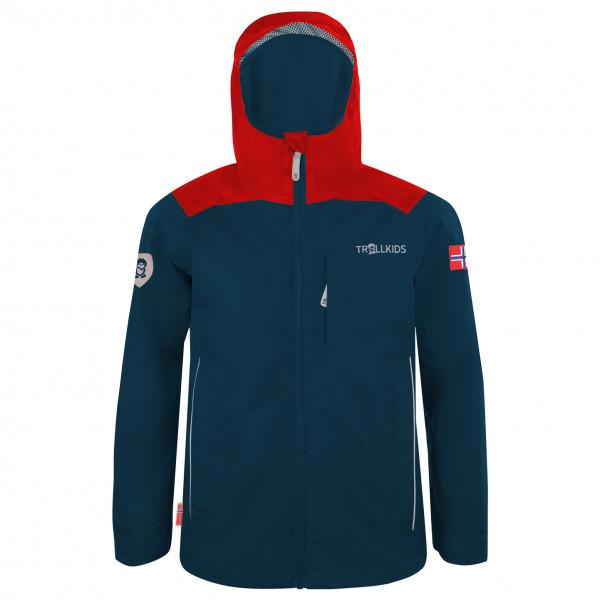 Trollkids - Kids Bergen Jacket - Regenjacke Gr 110 blau 610-410-110