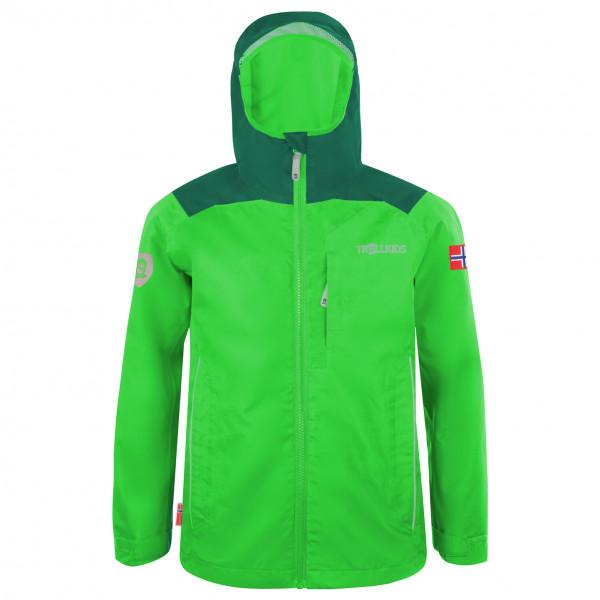 Trollkids - Kids Bergen Jacket - Regenjacke Gr 116 grün 610-308-116