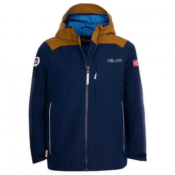 Trollkids - Kids Bergen Jacket - Regenjacke Gr 104;110 blau;grün 610