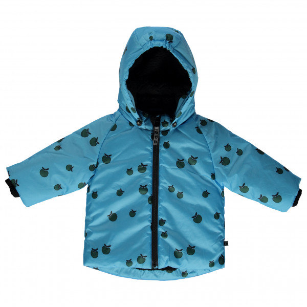 Smafolk - Kid's Baby Winter Jacket Apple - Winterjacke Gr 1-2 Years blau/türkis/schwarz 03-9652723001