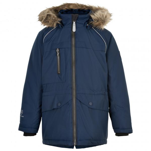 Color Kids - Kids Parka Fake Fur - Parka Size 140  Blue