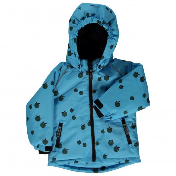 Smafolk - Kid's Winter Jacket Boy Apple - Winterjacke Gr 4-5 Years blau/türkis/schwarz 03-9731723004
