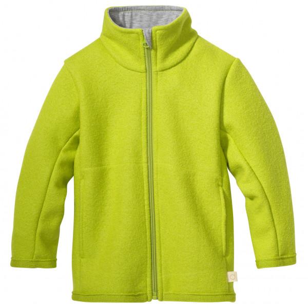 disana - Kid's Zipper-Jacke - Wolljacke Gr 110/116;122/128;74/80;86/92;98/104 blau;gelb/grün;rot/rosa;rosa;grau 7221