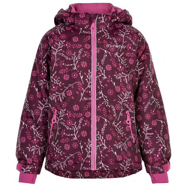 Minymo - Girl's Snow Jacket Oxford - Winterjacke Gr 104;110;116;140;92;98 lila/rosa 160448