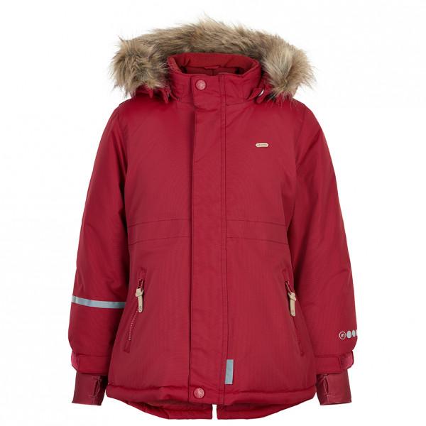 Minymo - Girl's Snow Jacket Tussor Solid - Winterjacke Gr 110;116;122;128;134;140;146;152 rot 160496