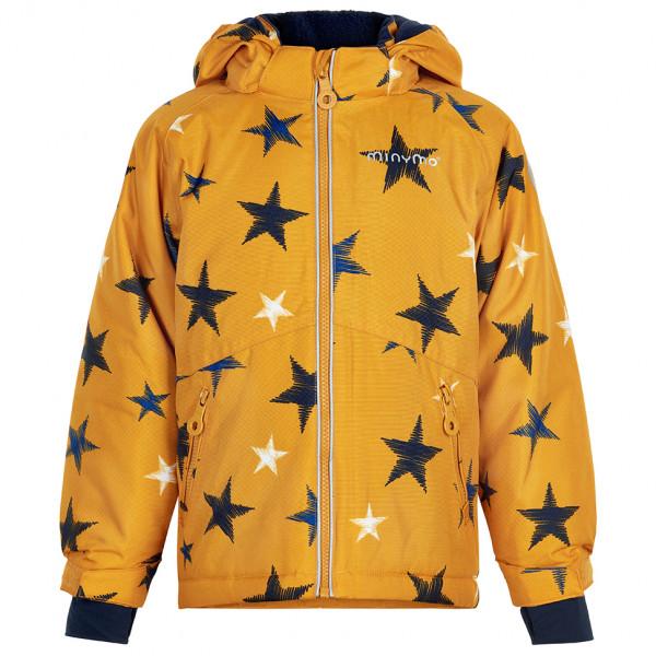Minymo - Kid's Snow Jacket Oxford - Winterjacke Gr 116;122;134;140;92 orange 160447