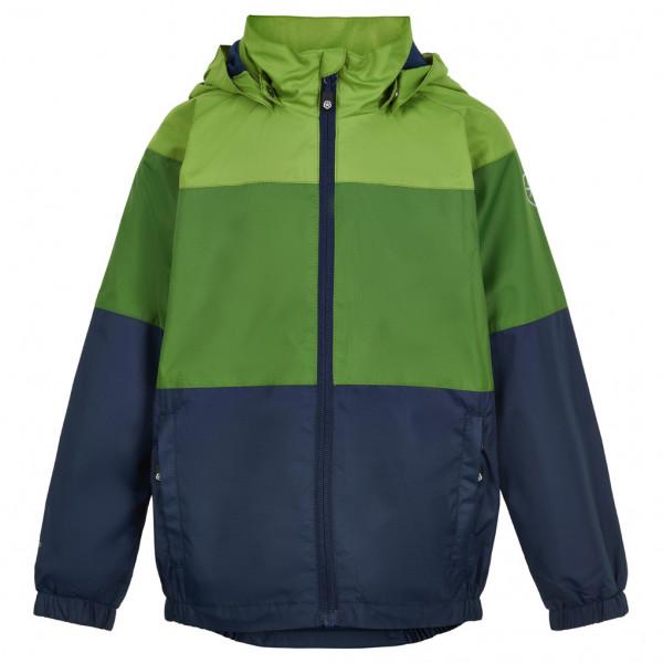 Color Kids - Kids Jacket Color Block - Waterproof Jacket Size 110  Blue/olive/green/black