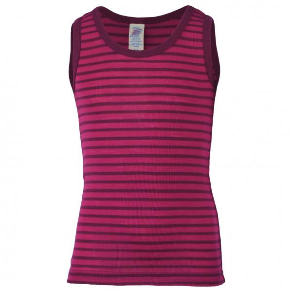 Engel - Kinder Achselhemd - Merino Base Layer Size 140  Purple/pink