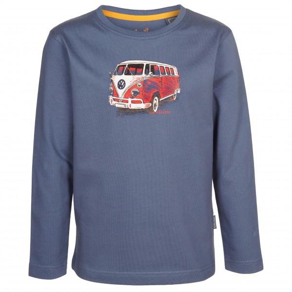 Elkline - Kid´s Streetwear - Longsleeve Gr 128/134 blau/grau Preisvergleich