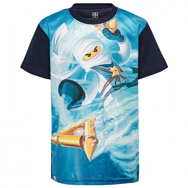 LEGO Wear - Kid´s CM-50255 T-Shirt S/S Gr 134 grau/türkis/blau Preisvergleich