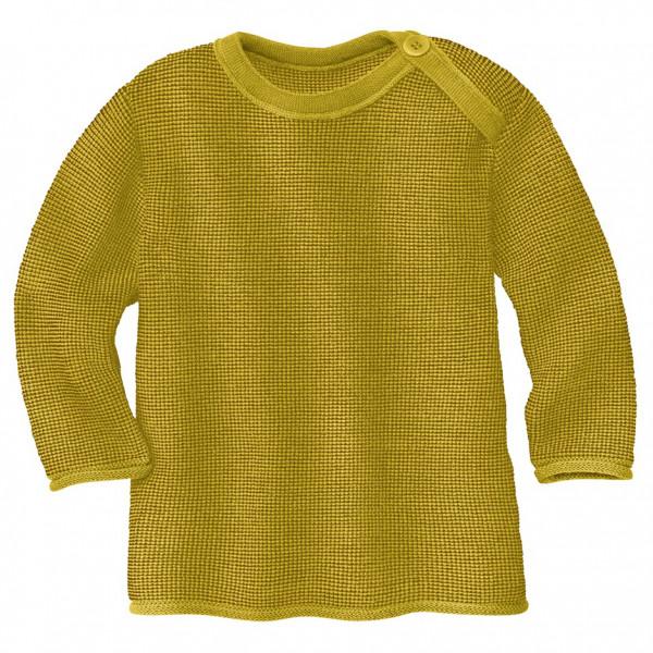 Disana - Kids Melange-pullover - Merino Jumper Size 62/68  Orange