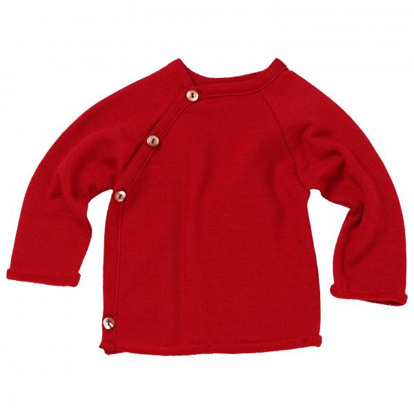 Reiff - Kid's Japu Frottee - Merinopullover Gr 98/104 rot 3014027