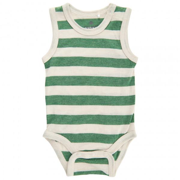 #CeLaVi – Baby's Body Sleeveless YD – Overall Gr 60;70;80;90 weiß/orange/beige;weiß/grün#