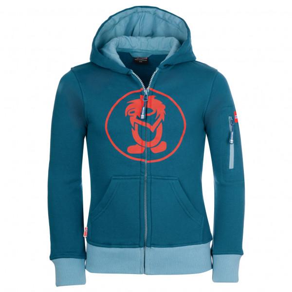 Trollkids - Kids Sortland Jacket - Hoodie Size 116  Blue
