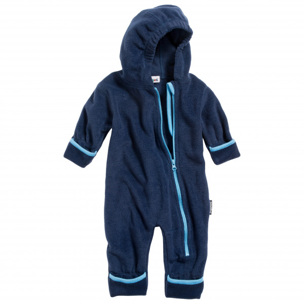 Playshoes - Kids Fleece-overall - Overall Size 74  Blue