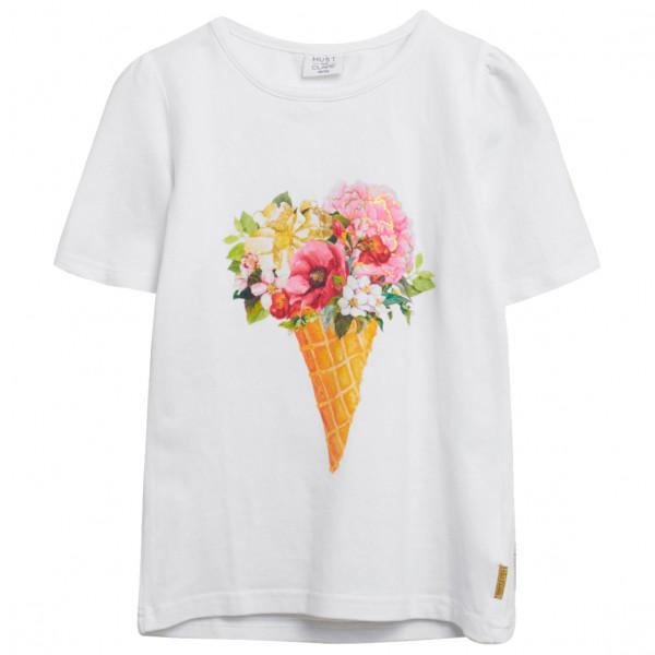 *Hust&Claire – Kid's Adane – T-Shirt Gr 152 grau/weiß*