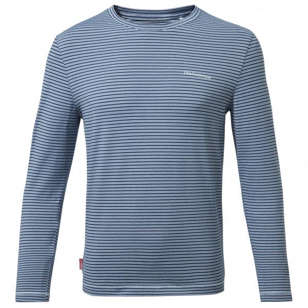 Craghoppers - Kids Nosilife Jago Long Sleeved T-shirt - Longsleeve Size 158  Grey/blue