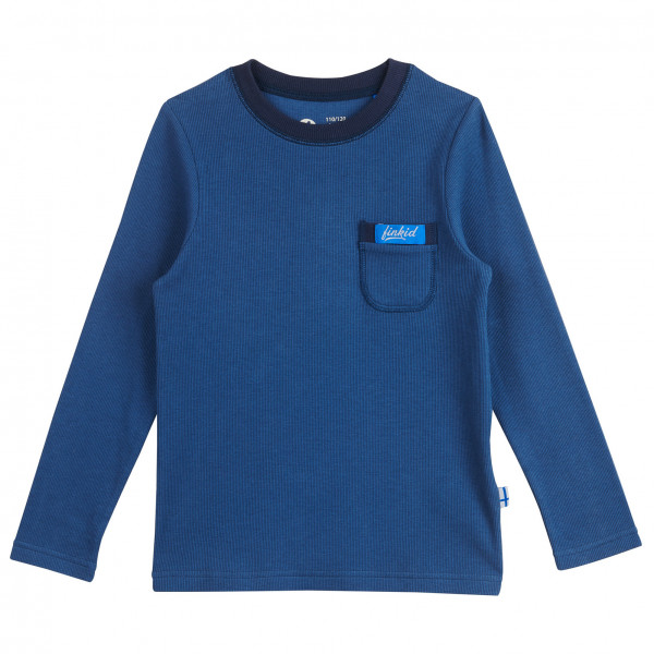 #Finkid – Kid's Laku – Longsleeve Gr 110/120 blau#