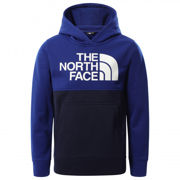 The North Face - Boys Surgent Pullover Block - Hoodie Size Xs  Black/blue