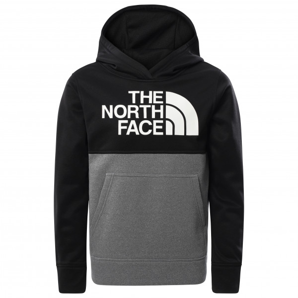The North Face - Boys Surgent Pullover Block - Hoodie Size Xl  Black/grey